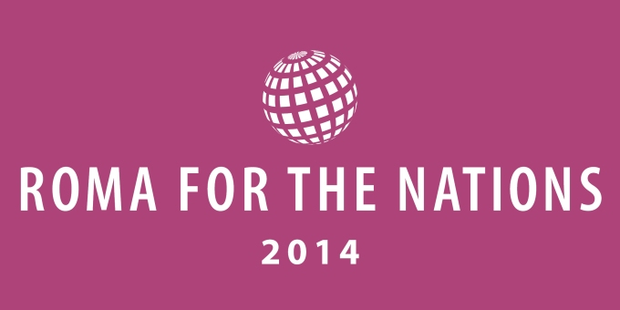 Logo Roma for the Nations 2014_08_19 Color Negative