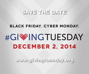 Giving Tuesday (#GivingTuesday)