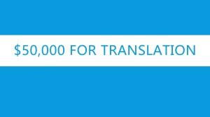 Roma Bible translation text 50000 for TRANSLATION