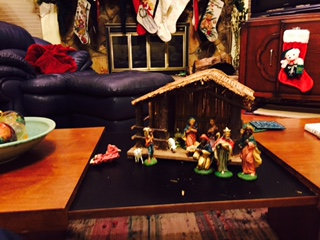 46 year-old manger scene