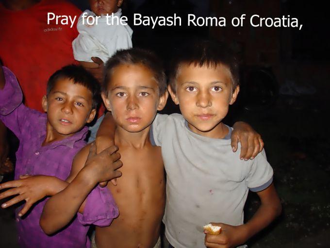 Pray for the Bayash Roma ofCroatia