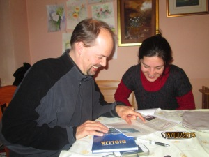 Todd training mother-tongue translator, Biljana