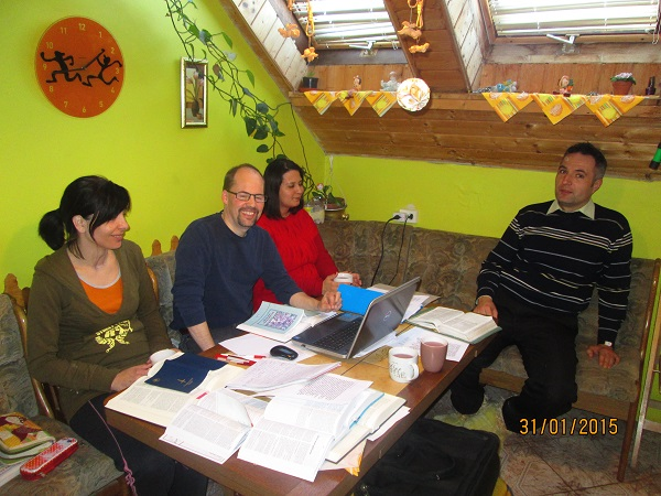 Praise report on Saturday's Bible translationsession