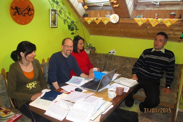 Praise report on Saturday's Bible translation session