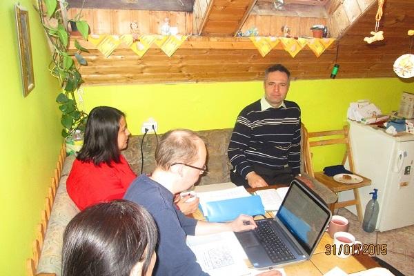 Prayer for translation progress in southernHungary