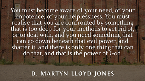 Martyn Lloyd Jones power of God small