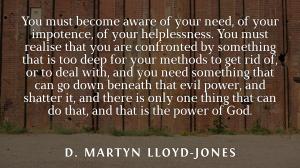 Martyn Lloyd Jones power of God