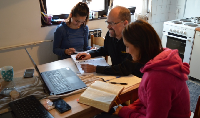 Bible translation sessions in Zagreb