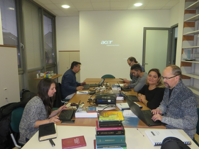 Bible translation sessions in Osijek, Croatia