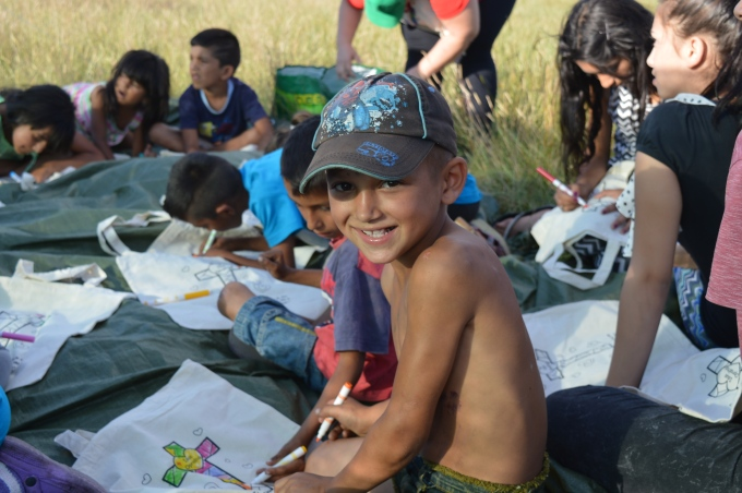 Day 2: Sisak children's Bibleclub