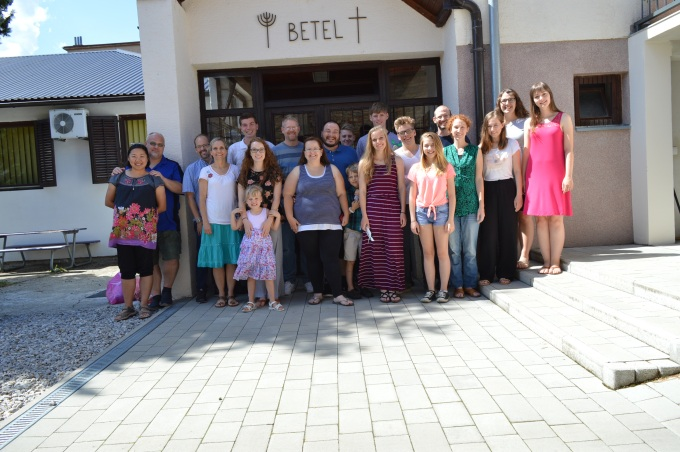 Sisak team for children's Bible club