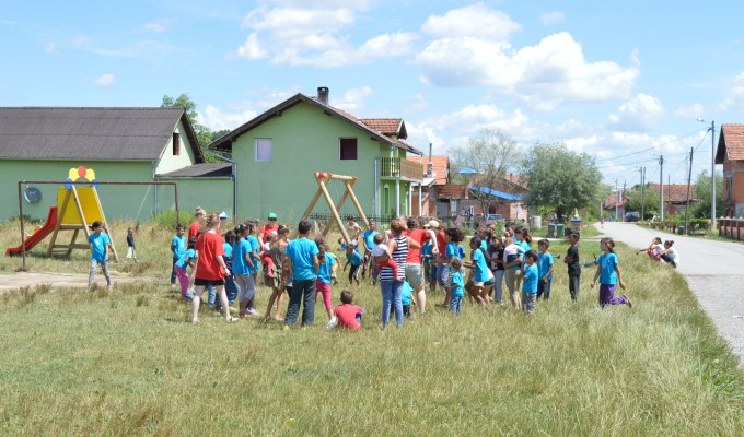 Day 4, Sisak children's Bible club