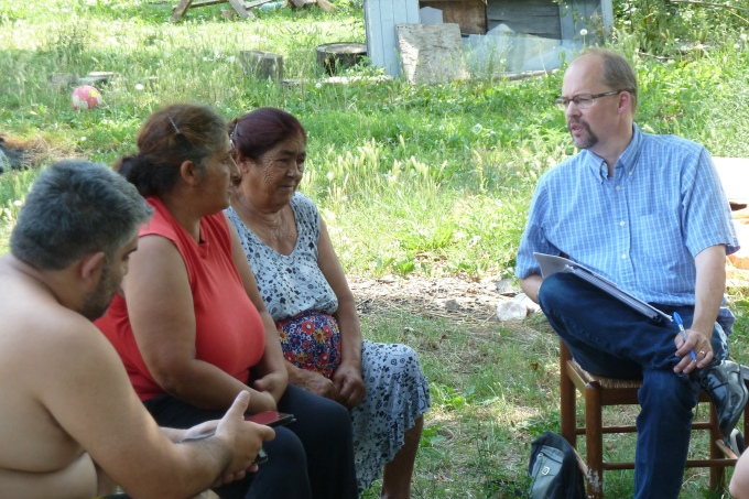 Working with our Roma Bibletranslators