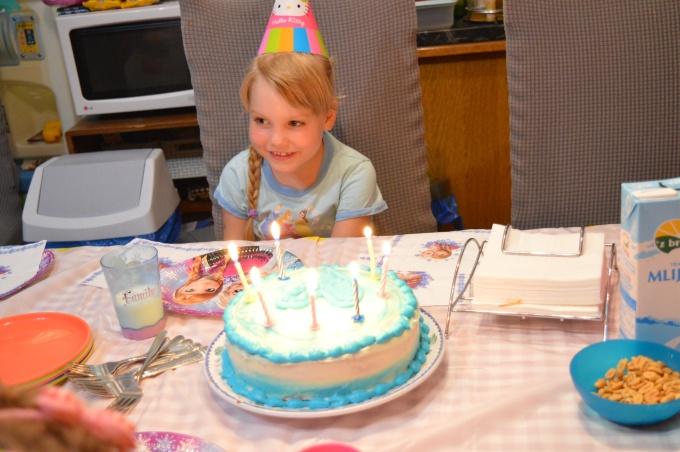 Ariela's 7th birthdayparty