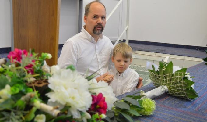 Baptism, retreat, Thanksgiving