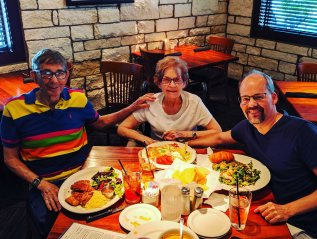 Family time in Oklahoma and Texas; and churchFAQ
