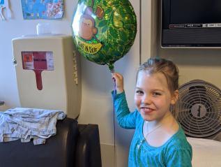 Get well balloon & cards fromAriela