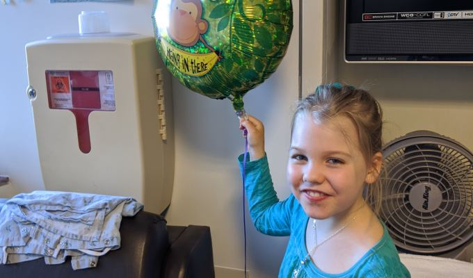 Get well balloon & cards from Ariela