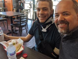 Matthew's follow up pain appointment; prayerrequests